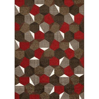 Mucklen Honeycomb Area Rug Rug Size: 710 x 1010