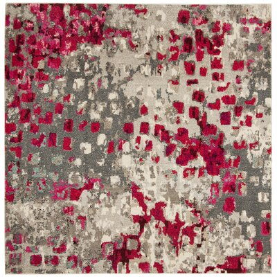 Mila Area Rug Rug Size: Square 6'7