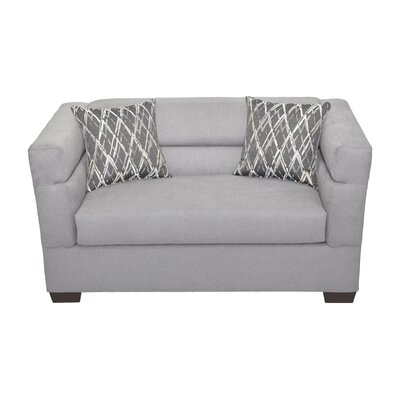 Elan Cuddle Arm Chair Upholstery: Arizona Smoke
