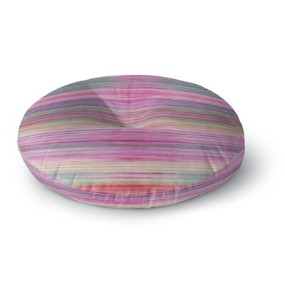Aurianna Sunset Round Floor Pillow Size: 23 H x 23 W x 9.5 D