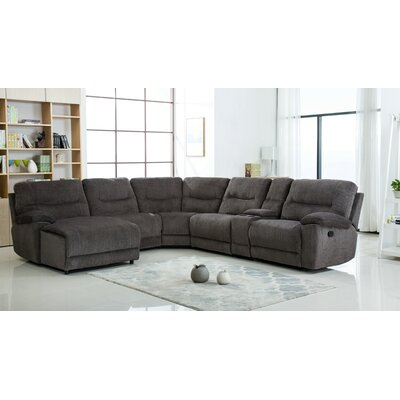 Hai Chenille Reclining Sectional