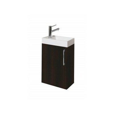 Schnieders 16 Single Bathroom Vanity Set Base Finish: Wenge