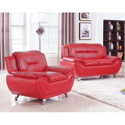 Sather 2 Piece Living Room Set