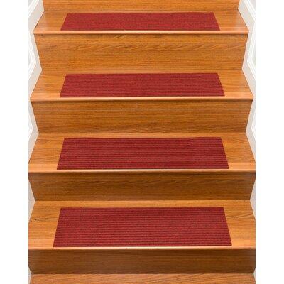 Schiffer Red Stair Tread