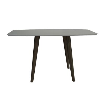 Schillinger Dining Table Base Color / Top Color: Brown Oak / Matte Gray