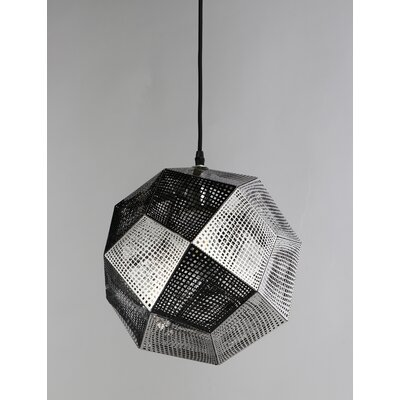Sowder 1-Light Mini Pendant Finish: Chrome