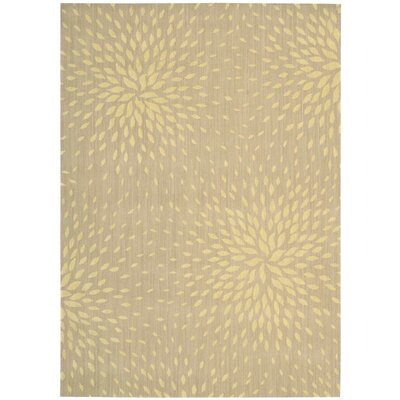 Jere Beige Area Rug Rug Size: Rectangle 53 x 75