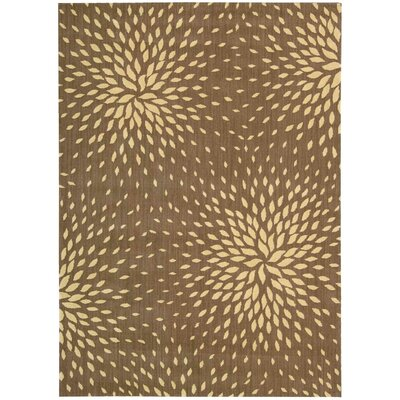 Jere Mocca Area Rug Rug Size: Rectangle 53 x 75