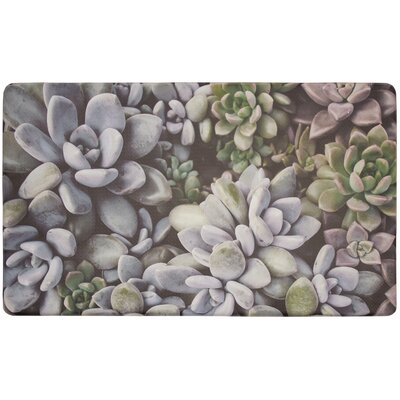 Mundo Succulents Gelness Kitchen Mat
