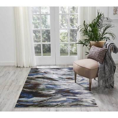 Aikin Aegean Area Rug Rug Size: Rectangle 4 x 6