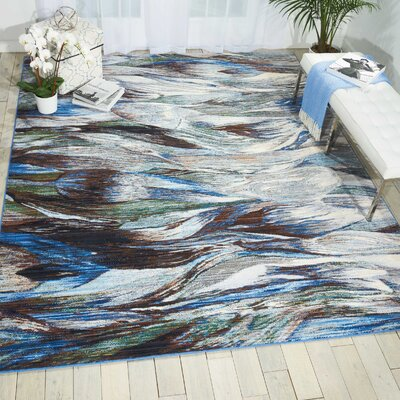 Ostby Aegean Area Rug Rug Size: Rectangle 79 x 99