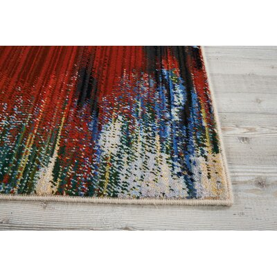 Ostby Crimson Tide Area Rug Rug Size: Rectangle 9'9