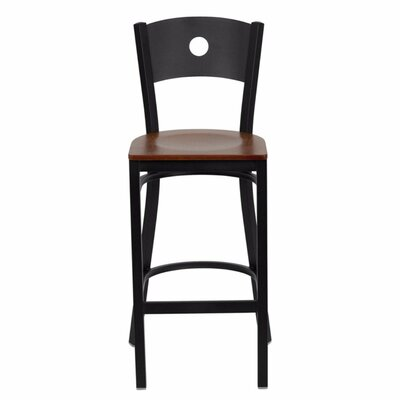 Buster 29 Bar Stool Finish: Cherry