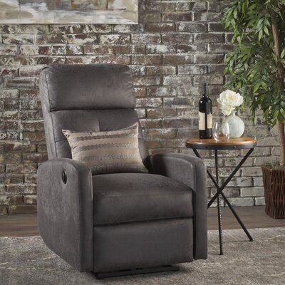 Yinka Power Recliner Upholstery: Slate