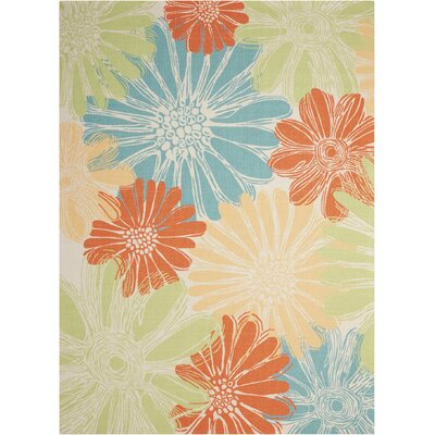 Somerville Home & Garden  IndoorOutdoor Area Rug Rug Size: Rectangle 10 x 13