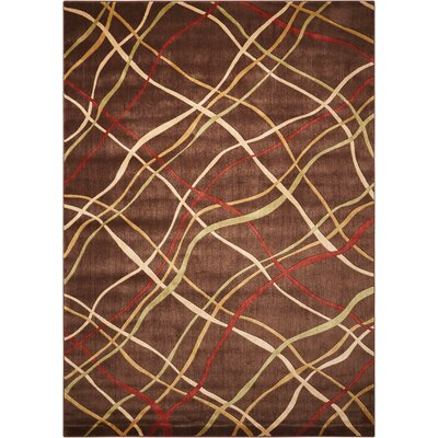 Minnie Brown Area Rug Rug Size: Rectangle 79 x 1010