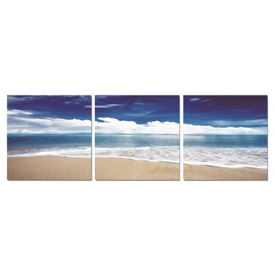 'Blue Skies Ahead' Photographic Print Multi-Piece Image on Canvas