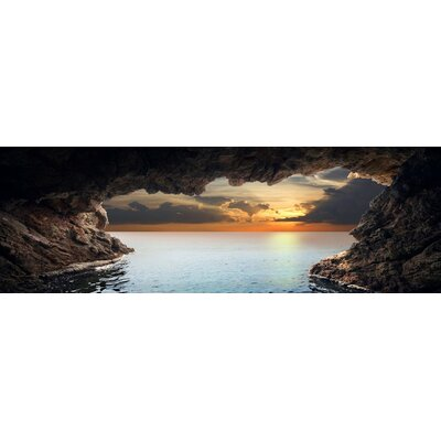 'Sea Cave' Photographic Print on Wrapped Canvas