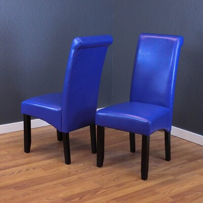 Darrell Parsons Chair Upholstery: Blue