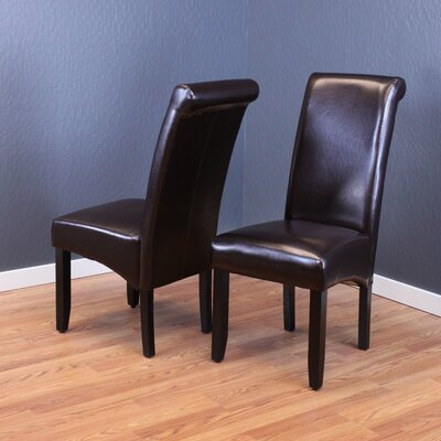 Darrell Parsons Chair Upholstery: Dark Brown