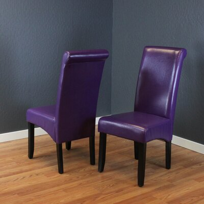 Darrell Parsons Chair Upholstery: Boysenberry
