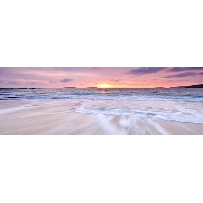 'Sunset' Photographic Print on Canvas Size: 20