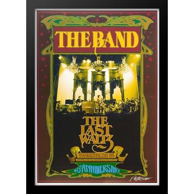 'The Band' Framed Vintage Advertisement Poster