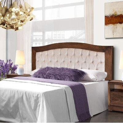 Gilberton Queen Upholstered Panel Headboard