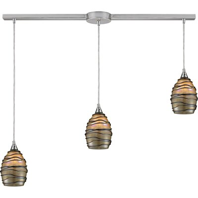 Ryckman 3-Light Linear Pendant