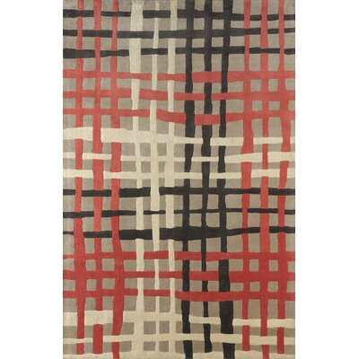 Courtney Hand Tufted Sorbet Area Rug Rug Size: Rectangle 6 x 9