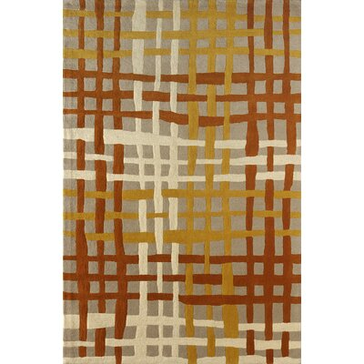 Courtney Hand-Tufted Sorrel Area Rug Rug Size: Rectangle 4 x 6