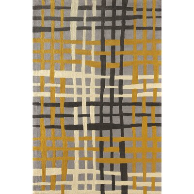 Courtney Hand-Tufted Horseradish Area Rug Rug Size: Rectangle 6 x 9