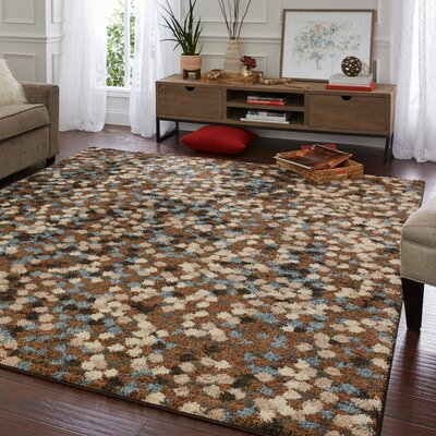 Withnell Brown Area Rug Rug Size: Rectangle 8 x 10