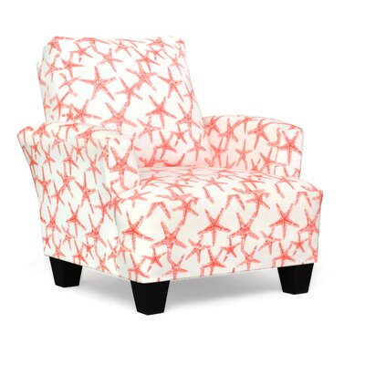 Mullins Accent Armchair Upholstery: Sea Friends Salom Slub