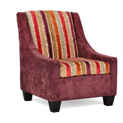 Belinda Accent Armchair Upholstery: Hearth Rasin Ripley Harvest