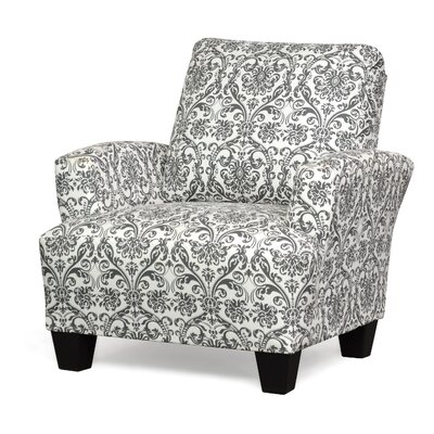 Mullins Accent Armchair Upholstery: Abigail Flamingo Grey