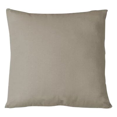 Salvaggio Edge Decorative Throw Pillow Color: Wheat