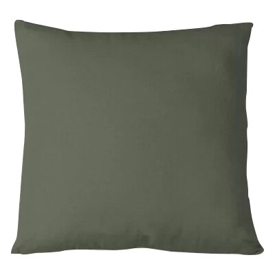 Salvaggio Edge Decorative Throw Pillow Color: Twig