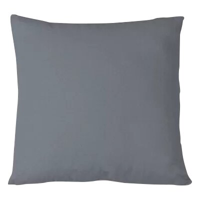 Salvaggio Edge Decorative Throw Pillow Color: Gray