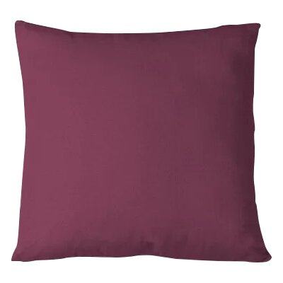 Salvaggio Edge Decorative Throw Pillow Color: Aubergine