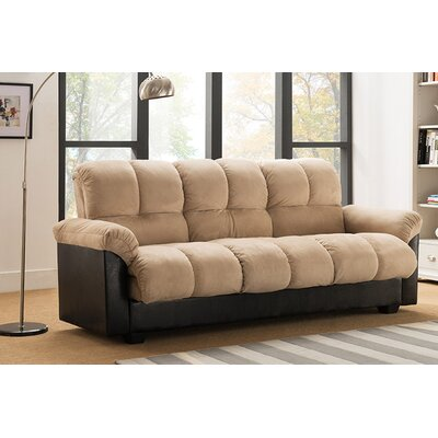 Capri Storage Convertible Sofa Upholstery: Beige