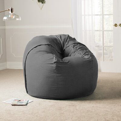 Giant Bean Bag Chair Upholstery: Microsuede Charcoal