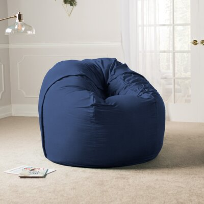 Giant Bean Bag Chair Upholstery: Microsuede Navy