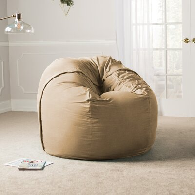 Giant Bean Bag Chair Upholstery: Camel