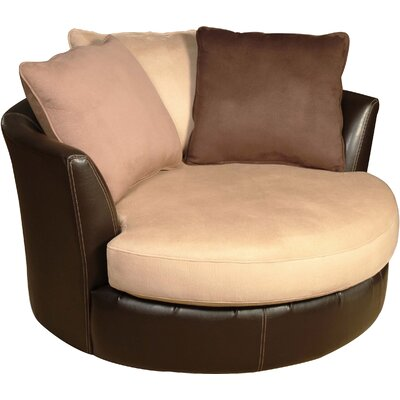 Newport Swivel Barrel Chair
