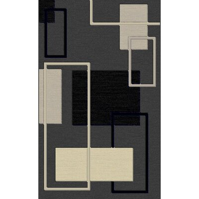 Smithers Contemporary Gray Area Rug