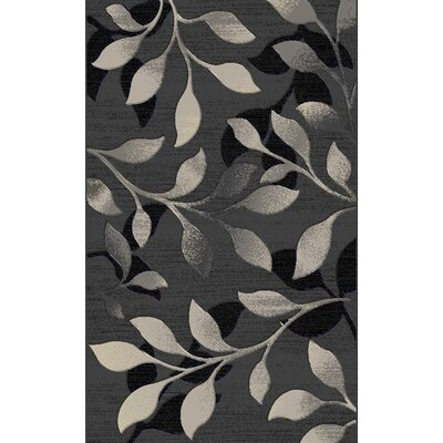 Tebikerei Contemporary Gray Area Rug