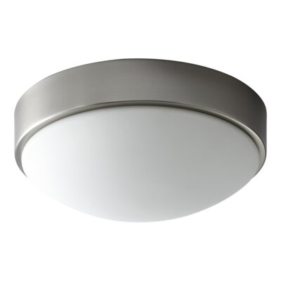 Selvage 1-Light Opal Glass Flush Mount