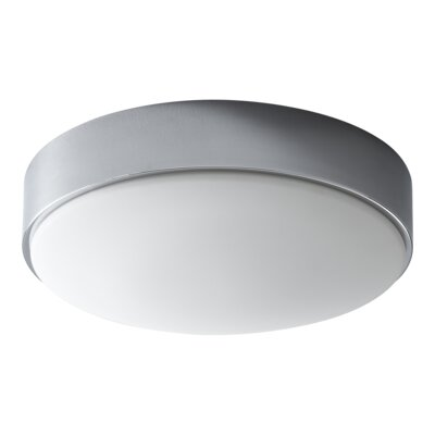 Selvage 2-Lights Flush Mount Finish: Polished Chrome
