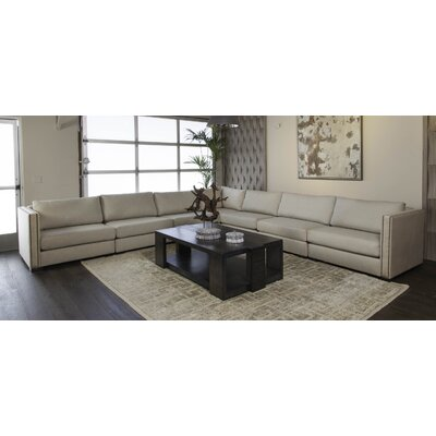 Timpson Right and Left Arms L-Shape Modular Sectional Upholstery: Sand